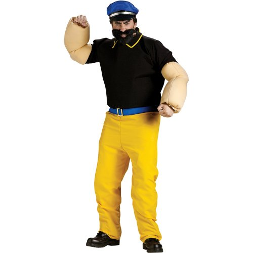Fun World Mens Popeye - Brutus Adult Costume
