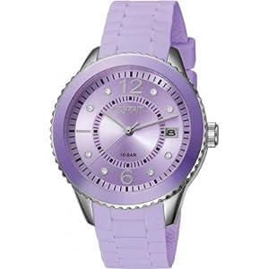 Esprit - ES105342023 - Montre Femme - Quartz - Analogique - Bracelet Silicone Violet
