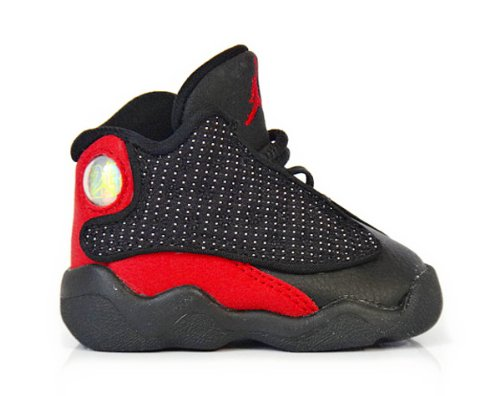 Nike Air Jordan 13 Retro Toddler Size 2.5 (Black / Varsity Red / White) 414581010 front-1055080