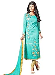 Amigos Fashion Women's Georgette Unstitched Dress Material (AF112)