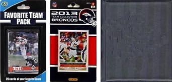 NFL Denver Broncos Licensed 2013 Score Team Set and Favorite Player Trading Card Pack by C&I Collectables