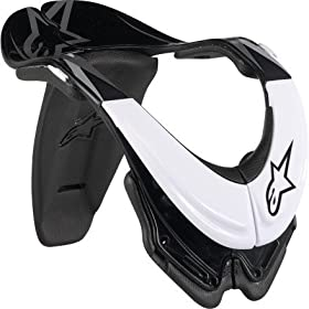 Alpinestars Bionic Special Blend Neck Support (White, X-Large)