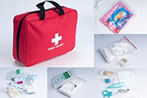 Weanas® Outdoor First Aid Kit Bag 200 pieces Portable for Camping Hiking Boating... by Weanas