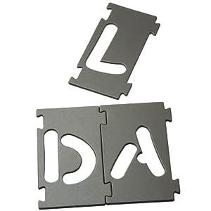 Bench Dog (10-050) Lettering Sign Kit 43-Piece