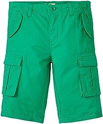 People Boys Shorts (P30502166025438_Powder Green_7 - 8 years)