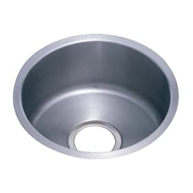 Elkay ELUH12FB The Mystic Lustertone Undermount Sink, Stainless Steel