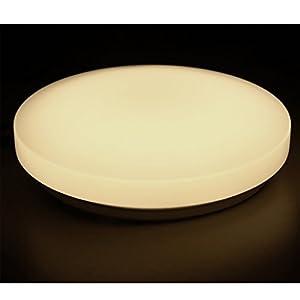 Mr.Lightin, Color Switchable 15W LED Circular Ceiling Panel Lamp Lights, 3000K/4000K/6000K, 1200LM, 12.8-inch, 160 Degree Beam Angle, Flush Mount Ceiling Lighting for Living Room, Bedroom, Dining Room from Mr.Lighting