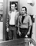 DAVID L. LANDER AS ANDREW 'SQUIGGY' SQUIGGMANN, MICHAEL MCKEAN AS LEONARD 'LENNY' KOSNOWSKI FROM LAVERNE &#038; SHIRLEY #1 - SCHWARZ-WEISS - Filmfoto - (Poster) PLAKATE - 25x20