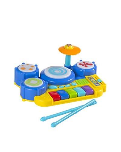 Color Baby Piano Bateria Con Luces Y Sonidos