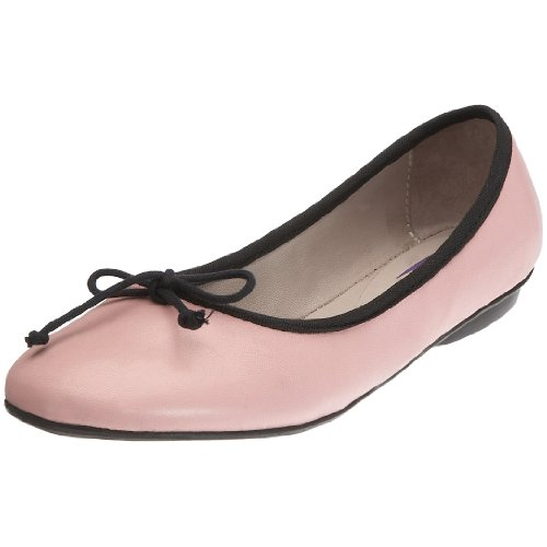 Pumpies Junior Nanette Ballet Flat Rose pink PM104A 13 Child UK
