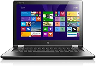 "Lenovo Yoga 2 13 PC portable Convertible Tactile 13""  Noir (Intel Core i7, 8 Go de RAM, 256 Go SSD, Intel HD Graphics, Windows 8.1)"