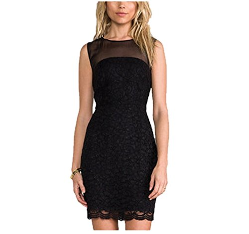 Akaash Womens Girls Clothes American Apparel Casual Black Dress
