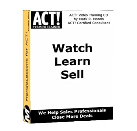 ACT 2010 Video Training CD - Fundamentals