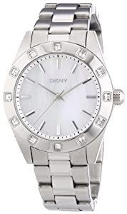 DKNY NY8660 LADIES 37MM STEEL BRACELET & CASE QUARTZ WATCH