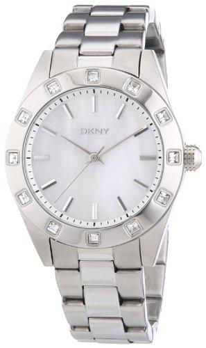 DKNY-Damen-Armbanduhr-Analog-Quarz-Edelstahl-NY8660