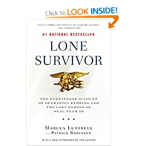 Amazon.com: Lone Survivor: The Eyewitness Account of Operation ...