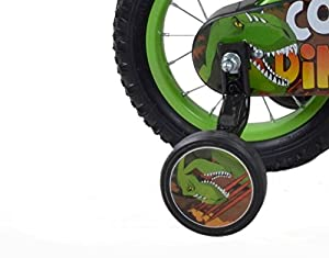 Concept Boy's Dinosaur Wheel - Green, 12-Inch