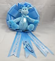 24 Inch New Baby Announcement Ribbon/It's a Boy Giraffe/1680 from First and Main