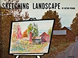 img - for Victor Perard's Sketching Landscape book / textbook / text book