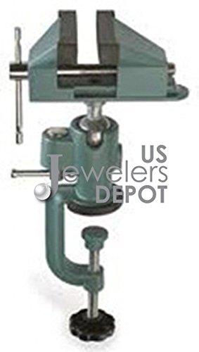 "Tabletop Vise 360 Degree Swivel 3"" # J-100220 Mfg # Bp11 Us Jewelers Depot"