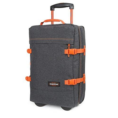 comparamus eastpak tranverz s bagage cabine 55 cm 42 l side denim. Black Bedroom Furniture Sets. Home Design Ideas