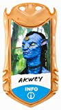 James Cameron's Avatar Na'vi Tribal Leader Akwey Figure with Bioluminescence