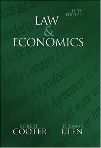 Law and Economics (5th Edition)