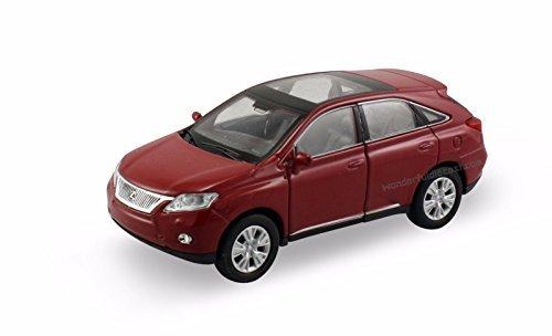 welly-lexus-rx-350-rx-450h-suv-1-40-scale-475-diecast-model-car-burgundy-w75