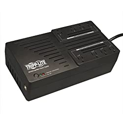 Tripp Lite AVR700U 700VA 350W UPS Desktop Battery Back Up AVR Compact 120V USB RJ11, 8 Outlets