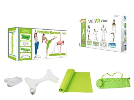 Nintendo Wii Fit Plus with Balance Board and 4 in 1 Fitness Accessory Kit