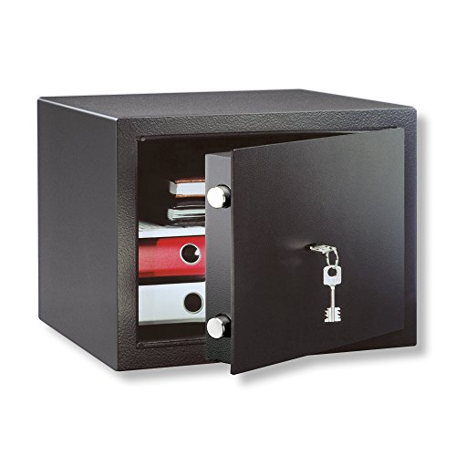Möbeltresor, Doppelbartschloss, Sicherheitsstufe B, HomeSafe H 1 S, Schwarz