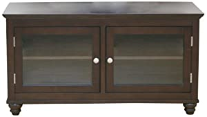 Middleton Collection 93012 48-Inch Bunfoot Tv Stand, Mocha Finish