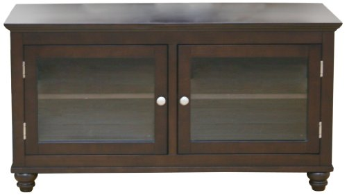 Middleton Collection 93012 48-Inch Bunfoot Tv Stand, Mocha Finish picture B0051DOIK4.jpg