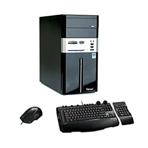 Hyrican PCK02946 Desktop-PC (Intel Core 2 Quad Q9550 2,8GHz, 4GB RAM, 750GB HDD, ATI Radeon HD 4670, DVD+- DL RW, Vista Home Premium)