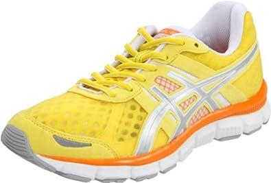ASICS Women's GEL-Blur33 Running Shoe,Sunshine/Lightning/Orange,6 M US