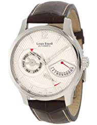 Louis Erard Men's 87221AA01.BDCL52 1931 Automatic Silver Dial Power Reserve Date Watch