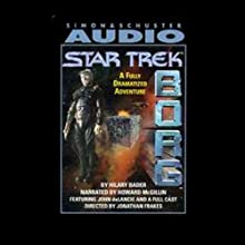 Star Trek: Borg (Adapted) Audiobook by Hilary Bader Narrated by Howard McGillin, John de Lancie