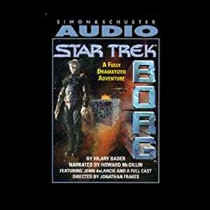 Star Trek: Borg (Adapted) Audiobook