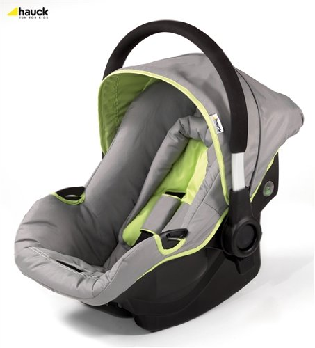 Hauck Car Seat for Capri and Manhattan Pushchairs (Grey / Lime)