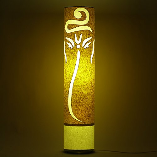 handmade-paper-yellow-white-paper-shade-modern-light-pagdi-ganesh-living-bedroom-floor-lamp