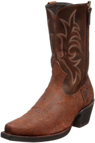 Ariat Men's Rustler Boot,Dirty Water Brown/ Duster,7 M US