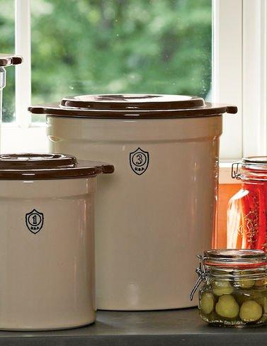 3-Gallon Stoneware Pickling Crock (Antique Pickle Crocks compare prices)