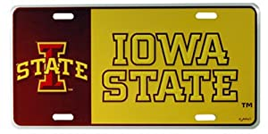 Buy NCAA Iowa State Cyclones Car License Plate by Game Day Outfitters