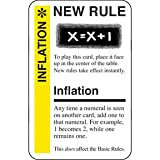 Fluxx Inflation Promo Game Card (NEW RULE) Works with All Fluxx Games!