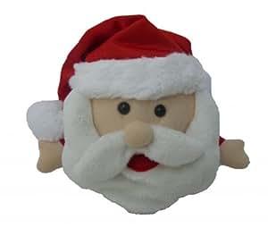 BZB Goods Singing Santa Claus Polyester Musical Animatronic Plush Toy Christmas Collectible