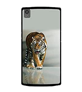 Printtech One Plus X Back Cover Nature Tiger Designer Case