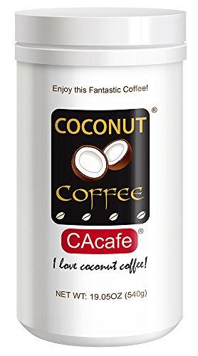 Cacafes Coconut Coffee in Jar #28528 (Cane Sugar