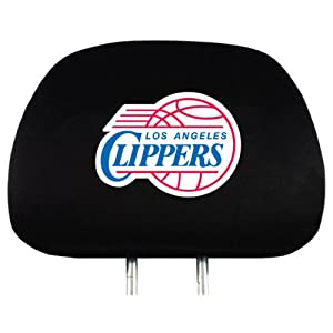 NBA Headrest Covers - L.A. Clippers