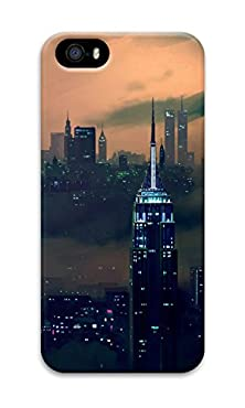 buy Phone Case Custom Iphone 5/5S Phone Case Buildings Cityscapes Smoke Polycarbonate Hard Case For Apple Iphone 5/5S Case