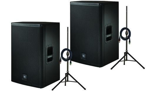 Electro-Voice Livex 15P Pair Pa Pro Package